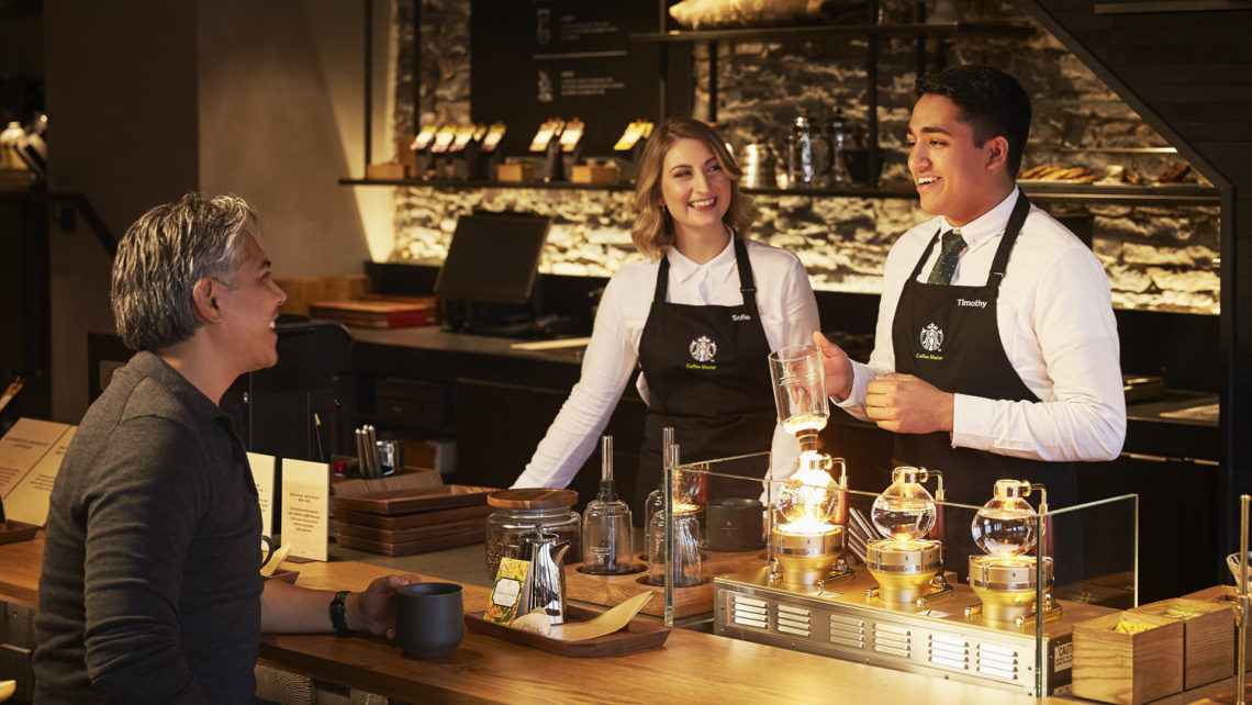 Studio141 inc portfolio Starbucks reserve coffee bar still
