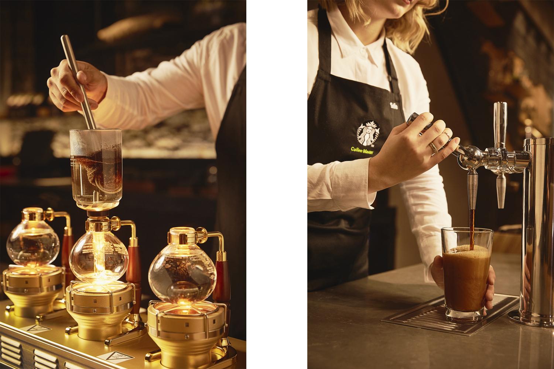 Studio141 inc portfolio Starbucks reserve coffee bar still