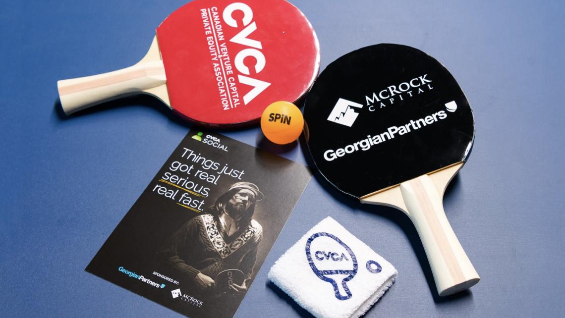 Studio 141 inc portfolio CVCA ping pong event