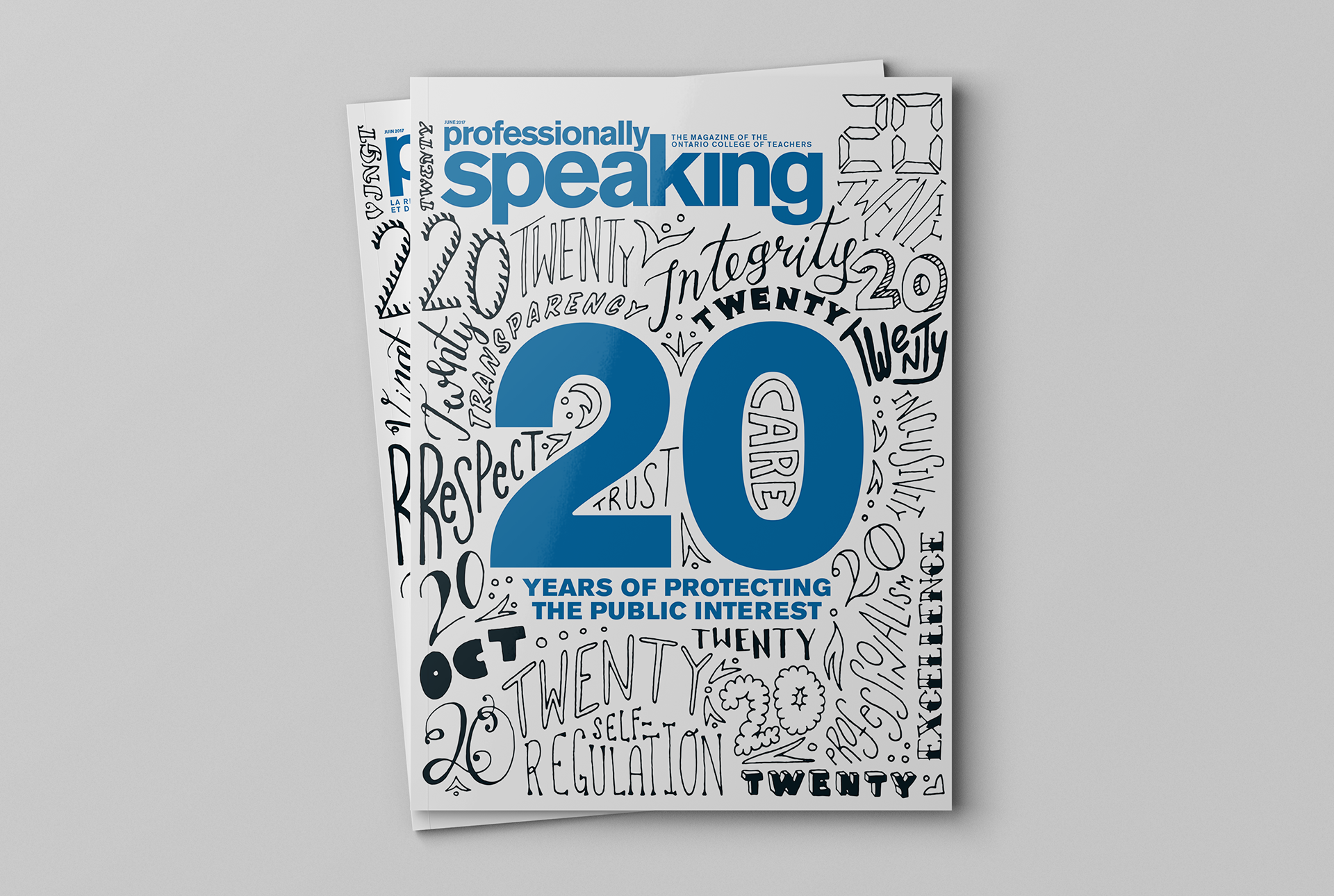 Studio 141 inc portfolio OCT Professionally Speaking magazine