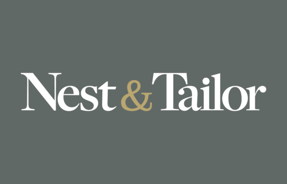 Studio 141 inc portfolio Nest & Tailor logo