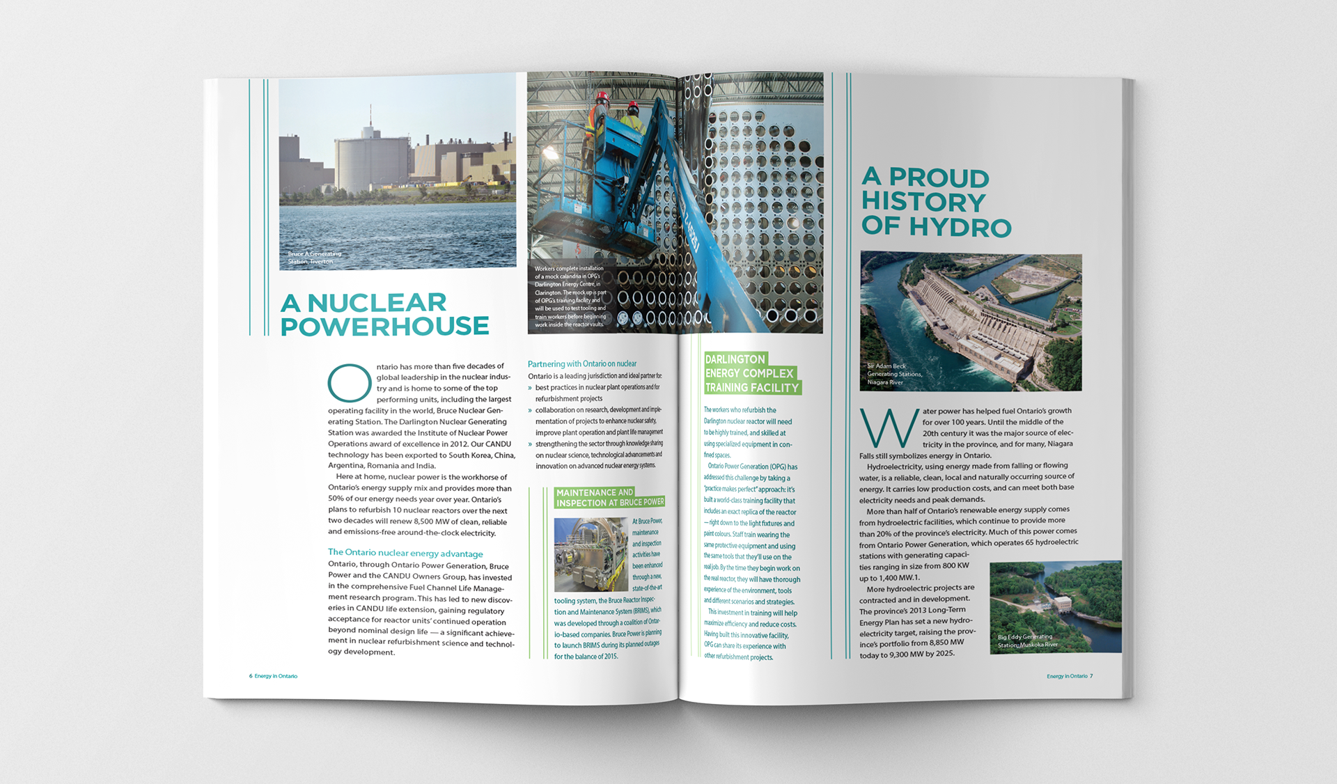 Studio 141 inc portfolio Ontario Ministry of Energy Energy in Ontario publication