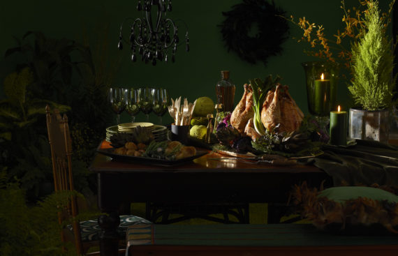 Studio141 inc portfolio styling creative turkey dinner