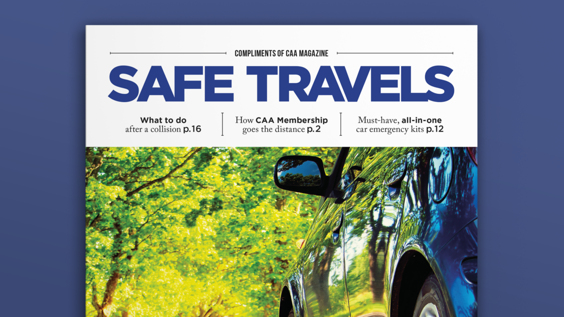 CAA Safe Travels special interest publication