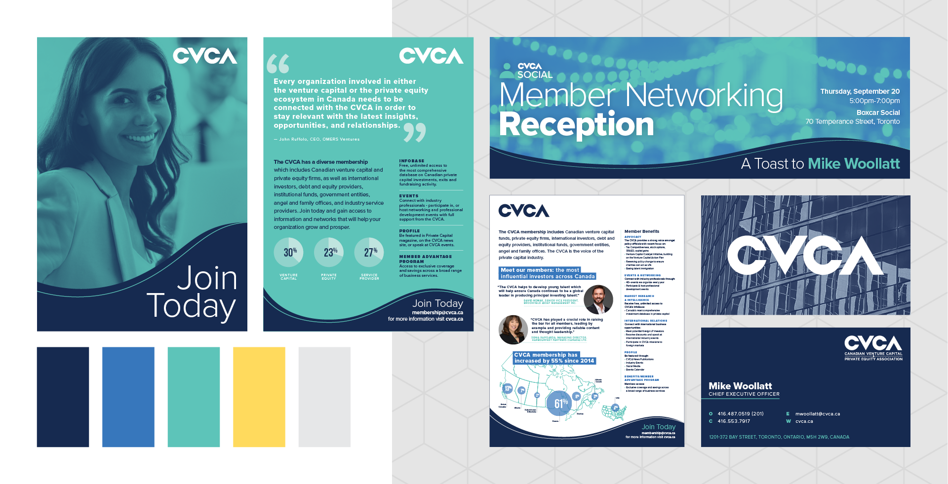 Studio 141 inc portfolio CVCA brand refresh