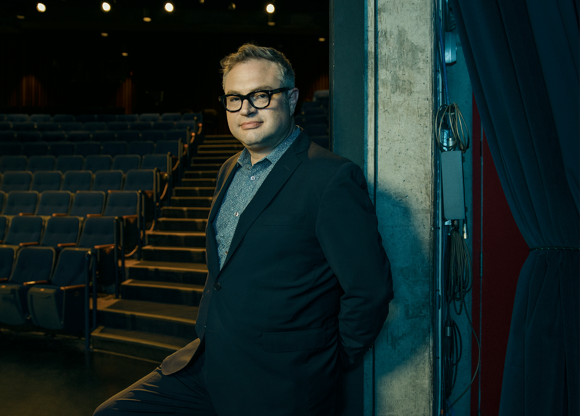 OCT Professionally Speaking magazine rebranded portrait Steven Page
