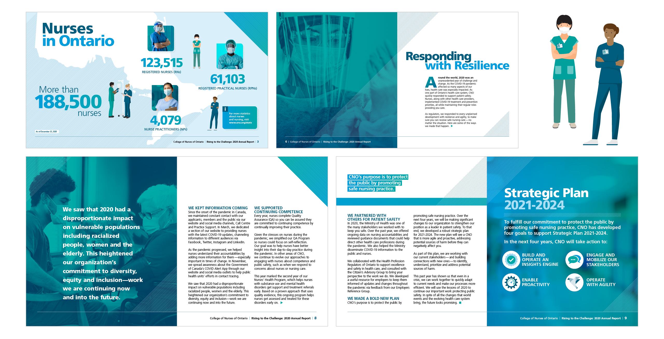 studio 141 CNO annual report 2020 design
